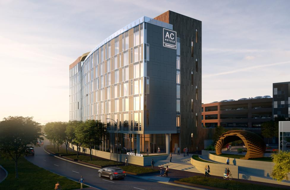 Dublin Ohio June 2017 Ac Hotel Columbus Located In The Upscale Bridge Park Neighborhood Just 20 Minutes From Downtown Is Set To