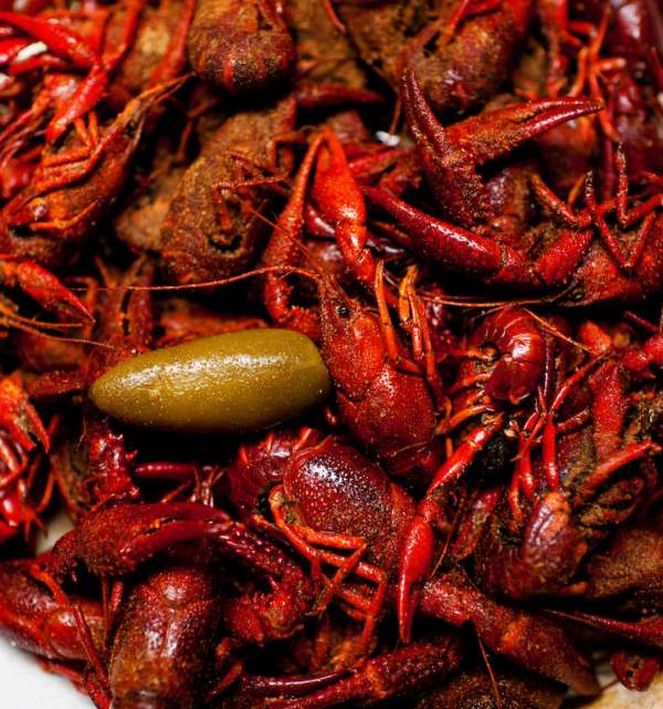 Boiled Crawfish with Pepper