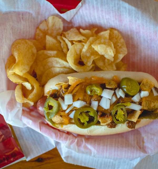 Tap Room Hot Dog