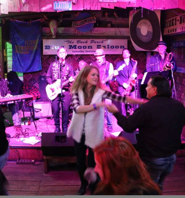 Creole String Bean Band at Blue Moon Saloon