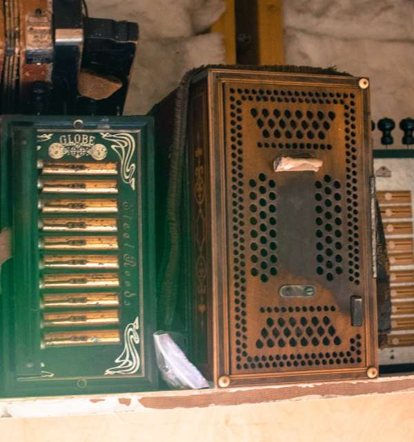 Antique Accordions