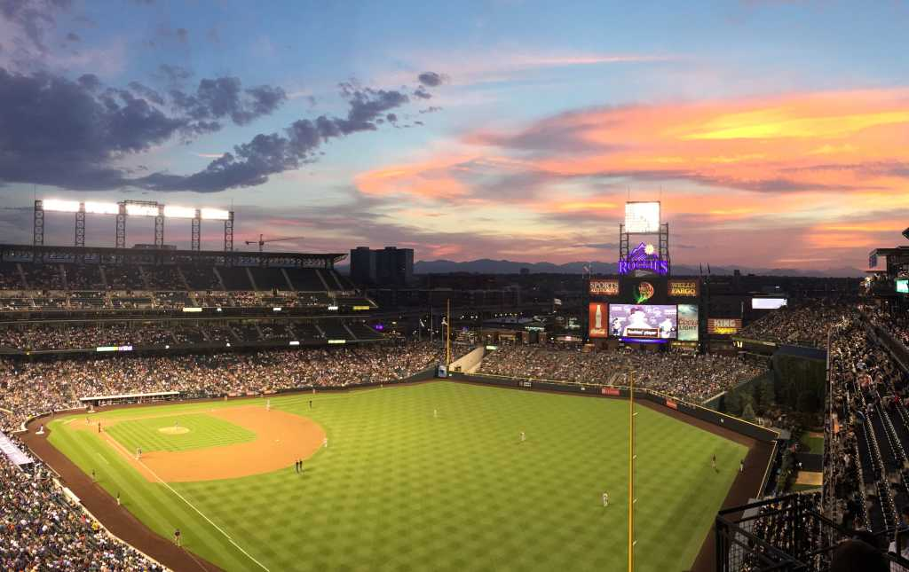 coors field home of the rockies visit denver