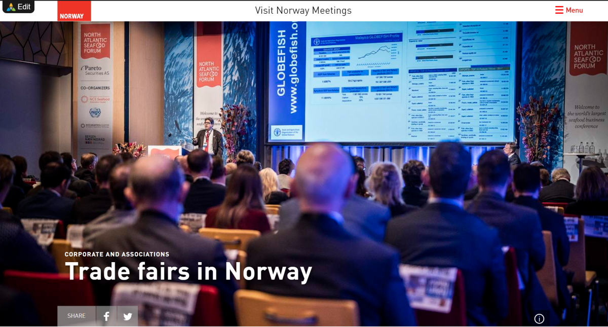 Trade fairs in Norway