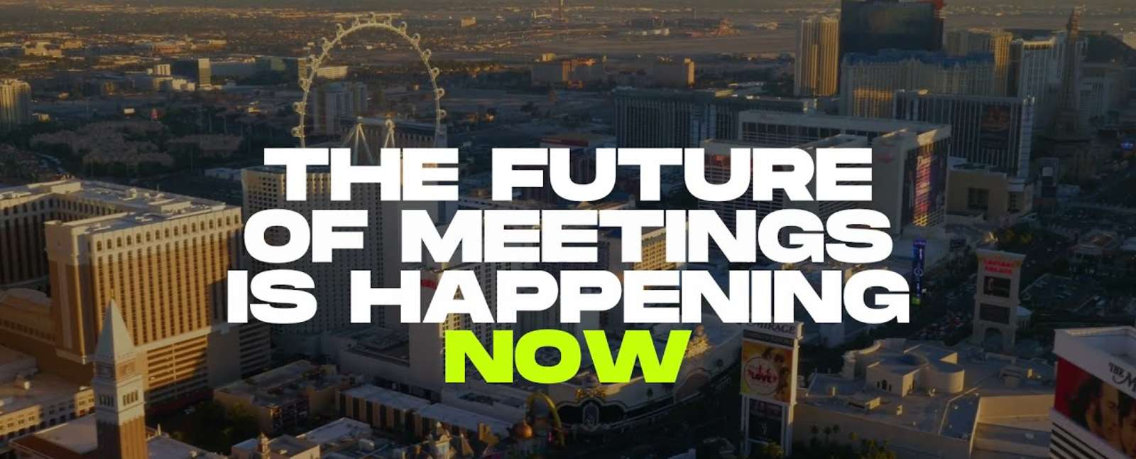 In-person meetings are back.