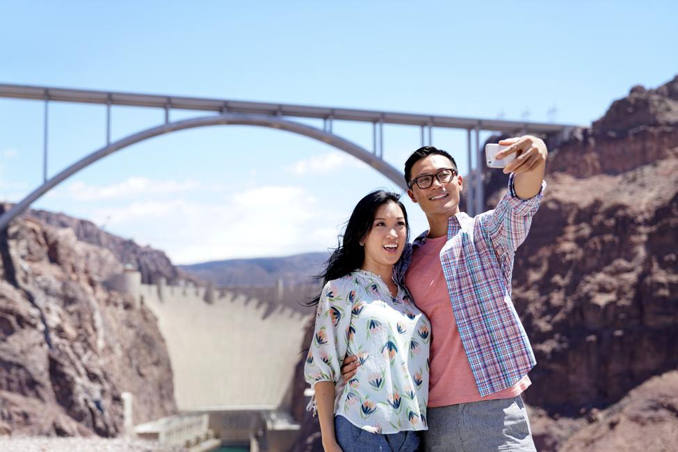 Selfie at Hoover Dam