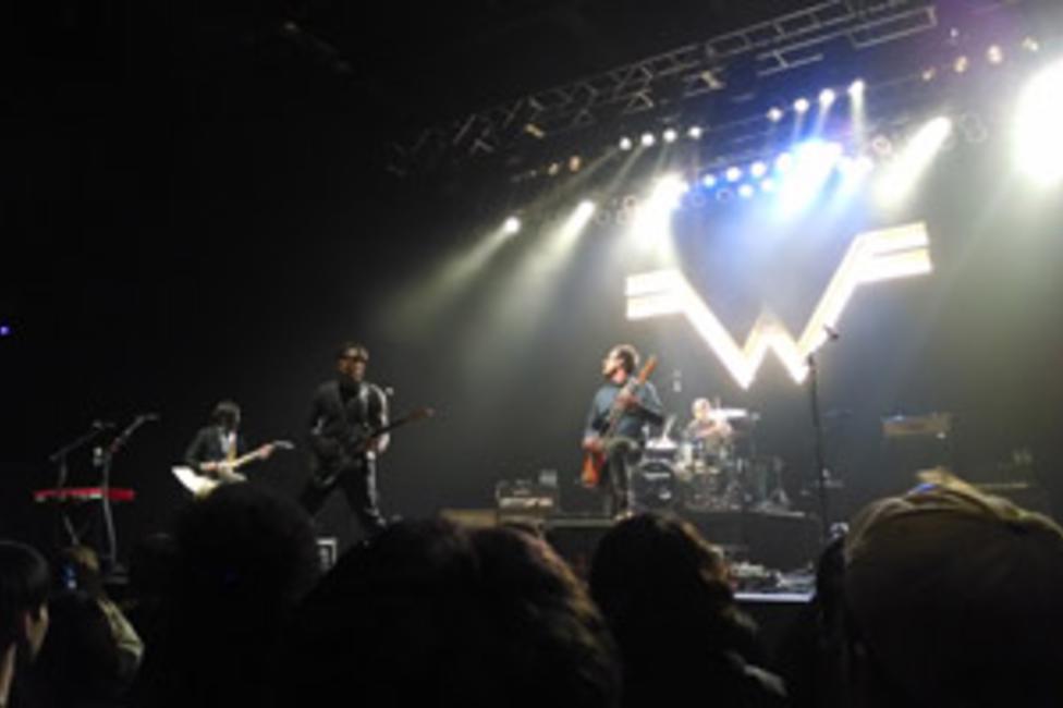 Weezers Sands Bethlehem Event Center Set Delivered Best Of Bands