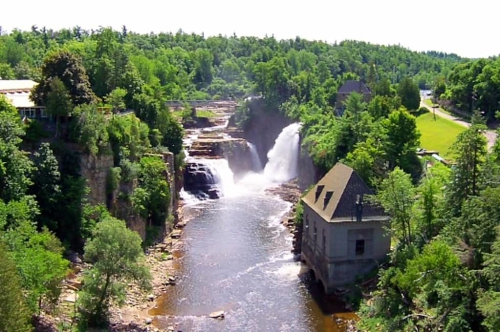 Ausable Chasm Falls - Ausable Chasm - Photo by Adirondack Coast Visitors Bureau