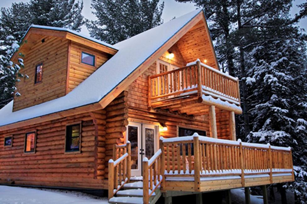 6 cozy cabins for your perfect winter vacation