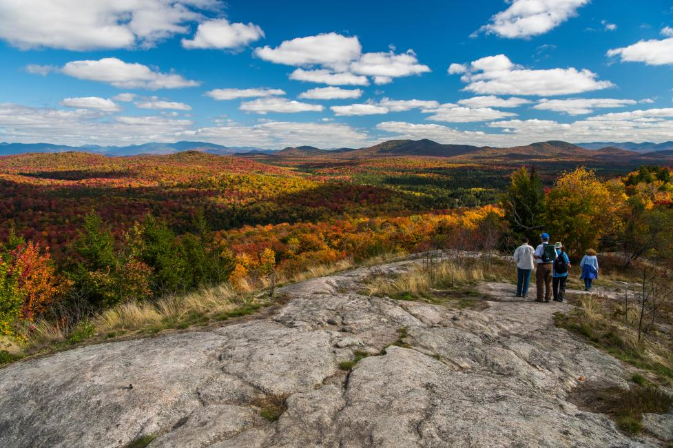 Coney Mountain in Tupper Lake Adirondacks