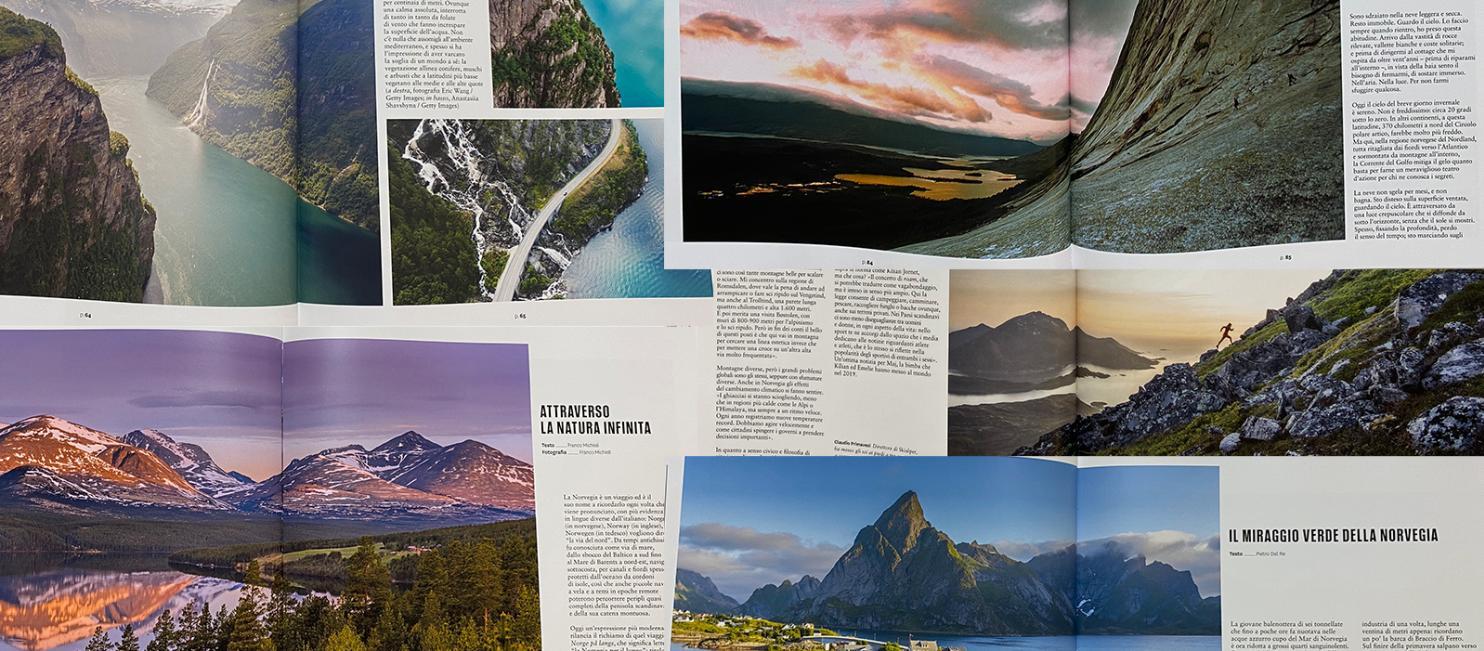 Faksimile av National Geographic Italiano September 2020