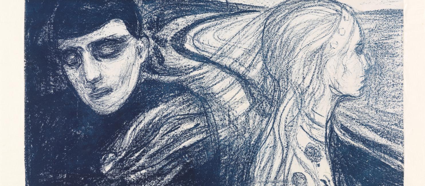 Løsrivelse, Edvard Munch