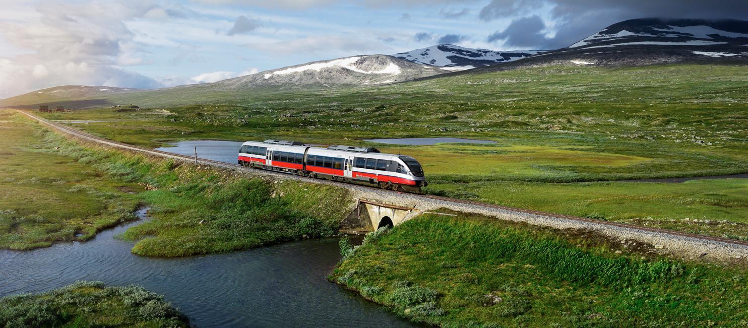 Nordlandsbanen over Saltfjellet