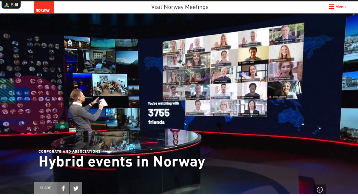 Hybrid events in Norway