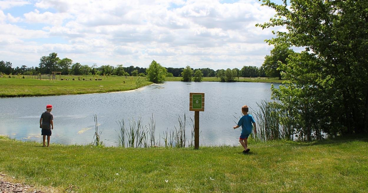 Northwest Park in Brownsburg