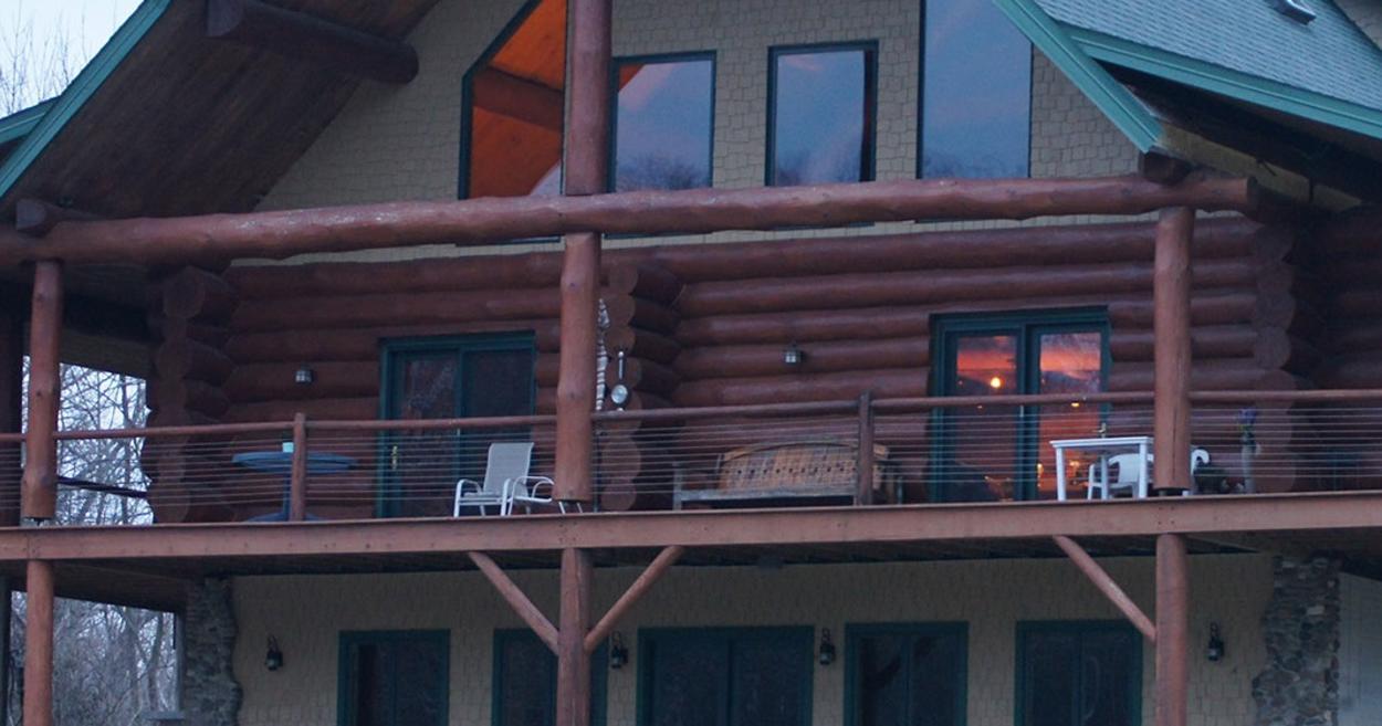Natural Valley Ranch Cabin exterior