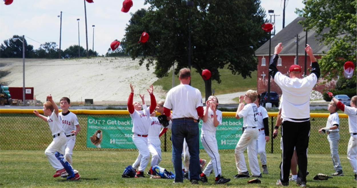 Baseball Little League Winner Shot