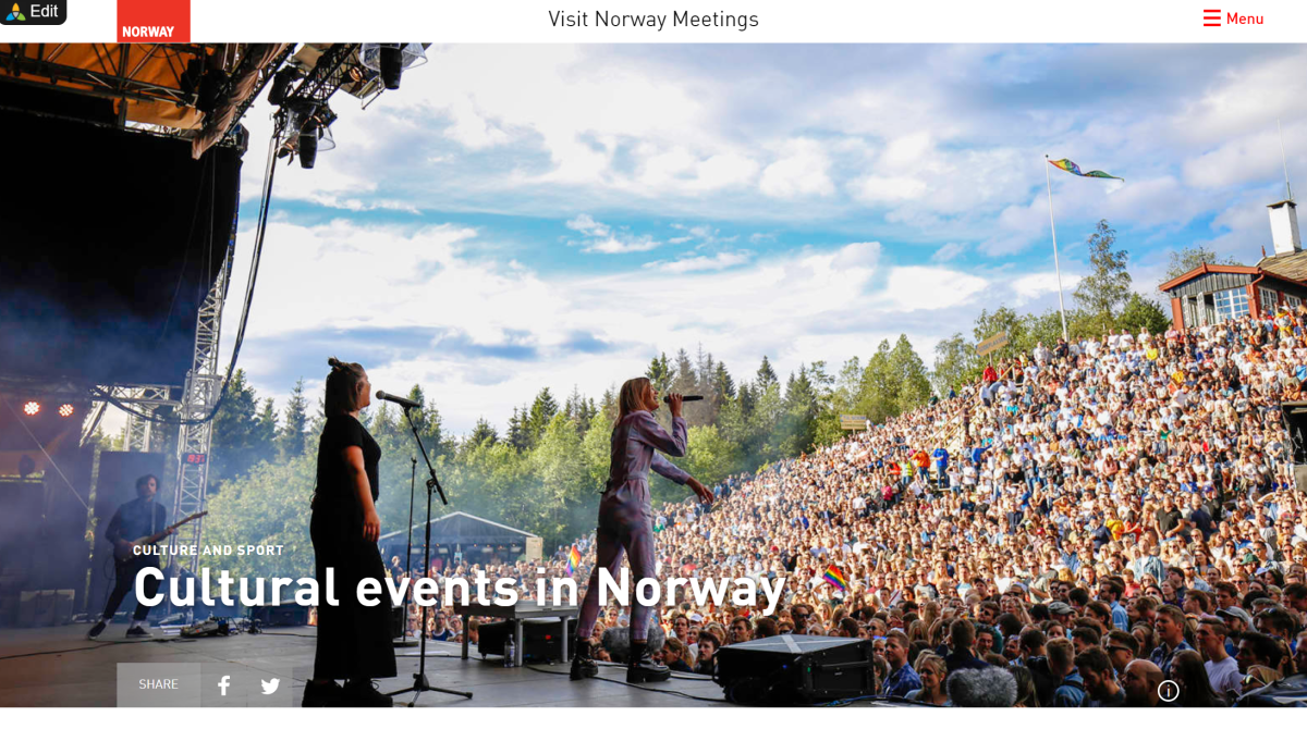 Cultural events in Norway