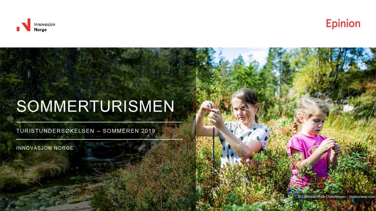 Turistundersøkelsen sommer 2019