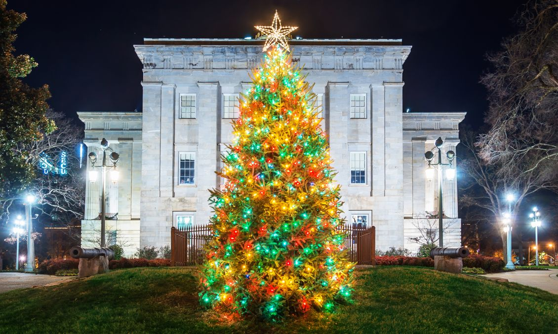 Holiday Favorites: Light Displays and Christmas Tree Lightings in Raleigh, N.C.