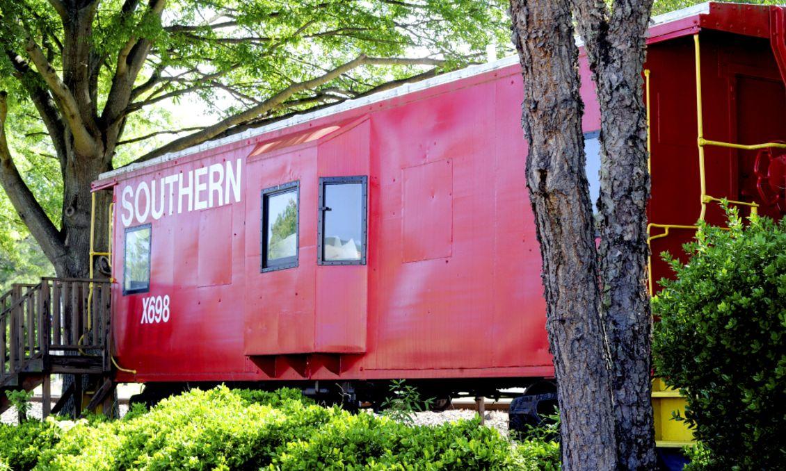 Knightdale train