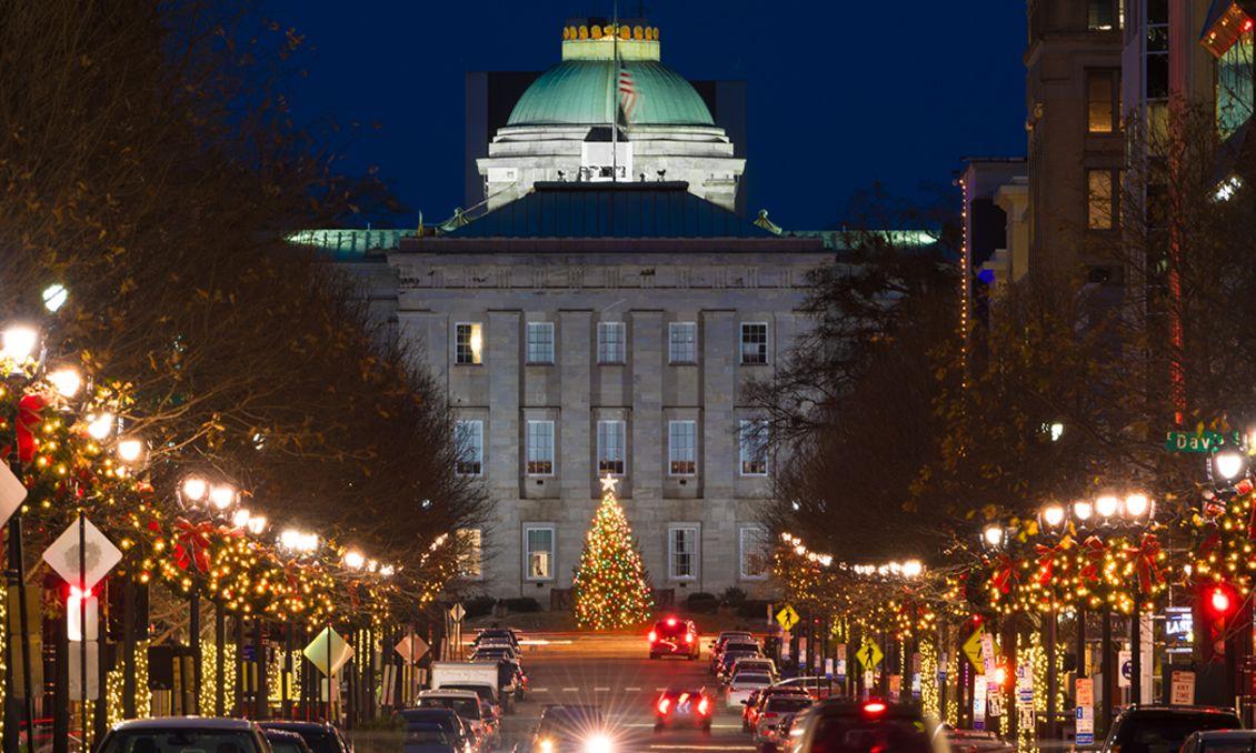 North Carolina State Capitol Tree