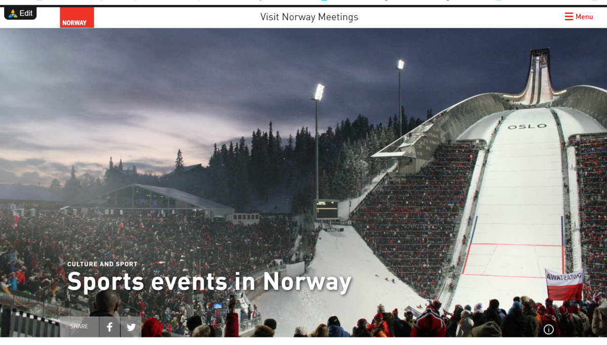 Sports events in Norway