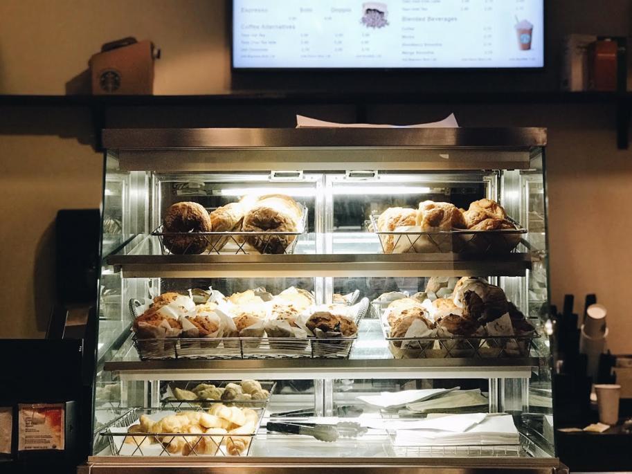 Pastry Holder at Marriott