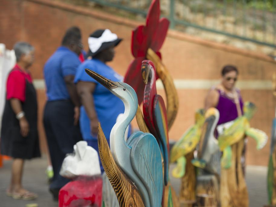 Augusta Market heron