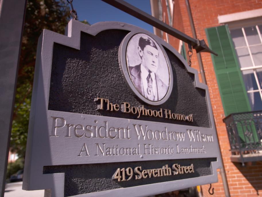 Boyhood Home of Woodrow Wilson