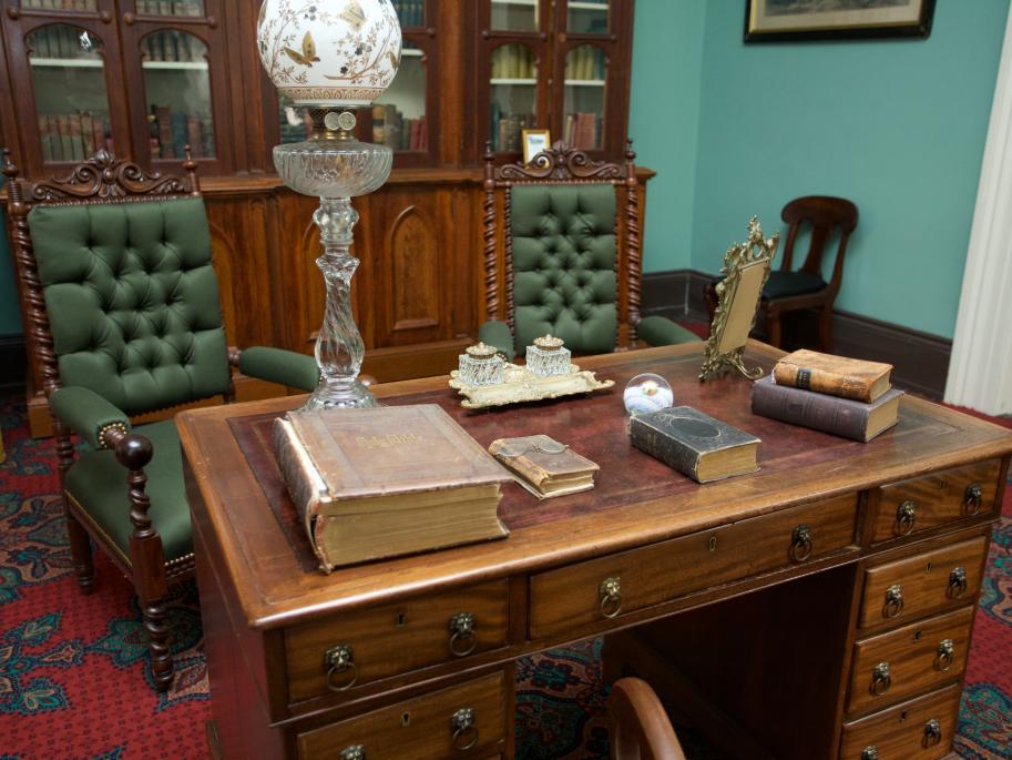 The Boyhood Home of President Woodrow Wilson on Historic Augusta's Walking Tour