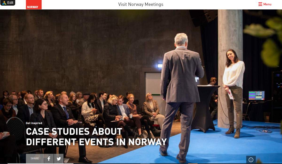 Case studies about different events in Norway
