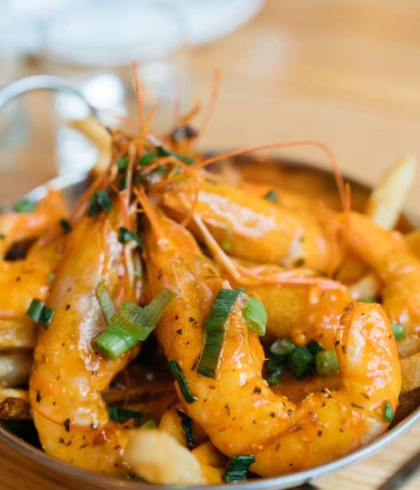 Spicy Shrimp Boil - Lula Restaurant & Distillery