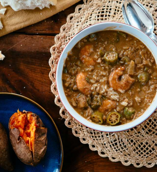 What Makes Gumbo