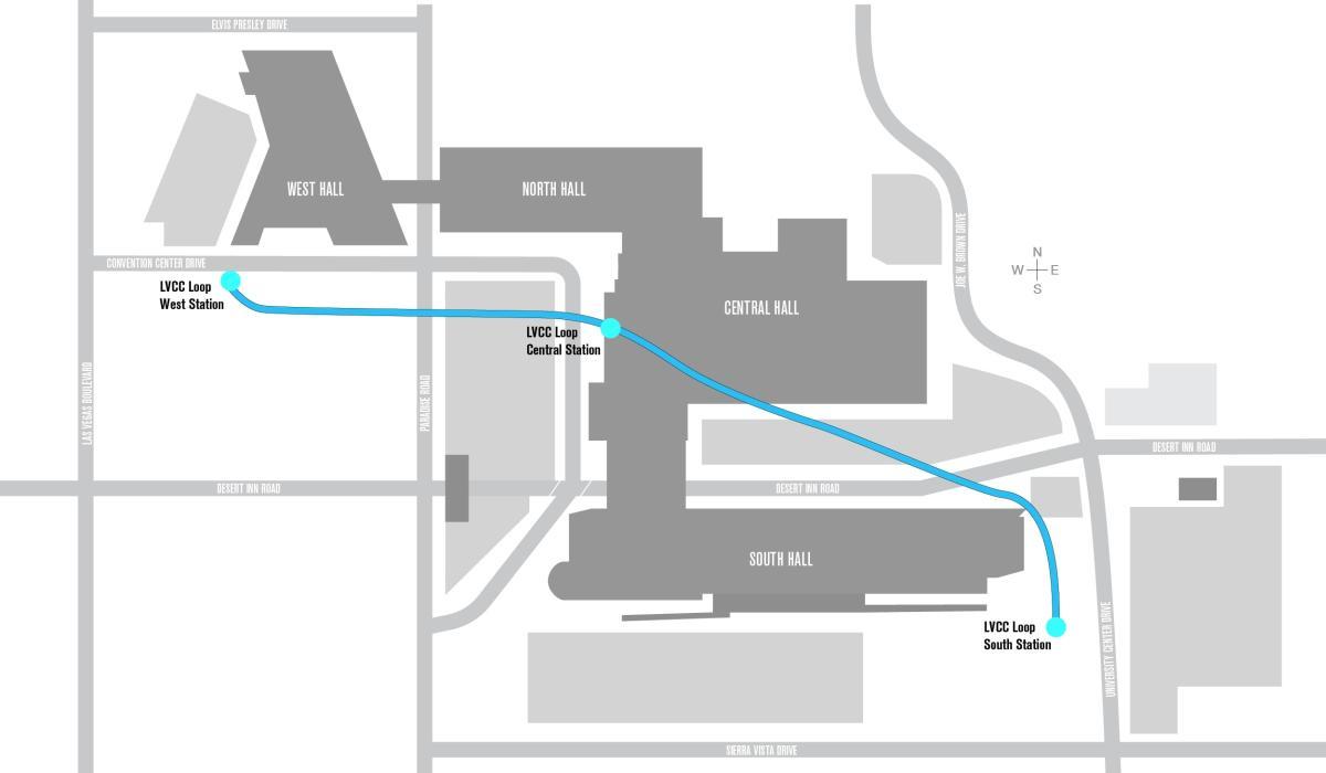 LVCC Loop Map