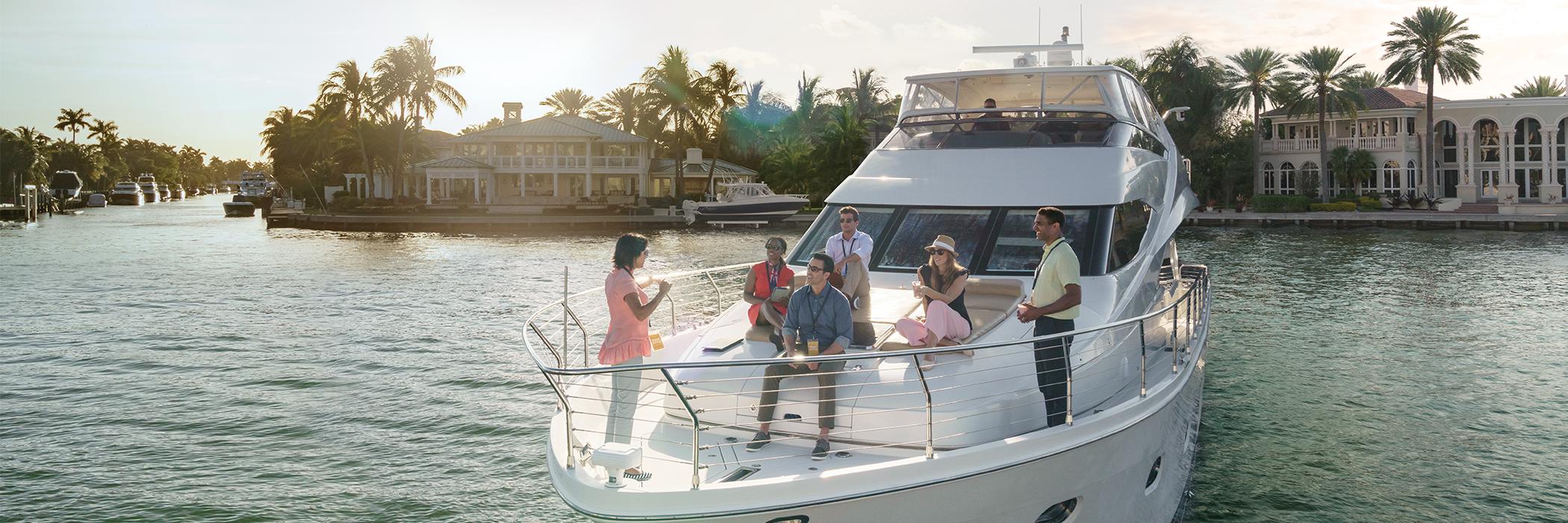 yacht meeting