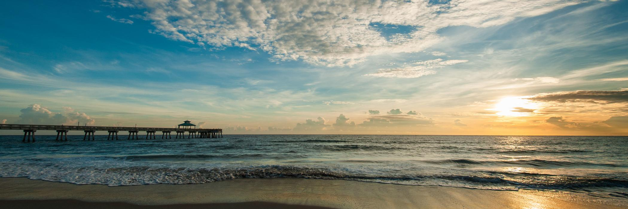BeachPierSunrise