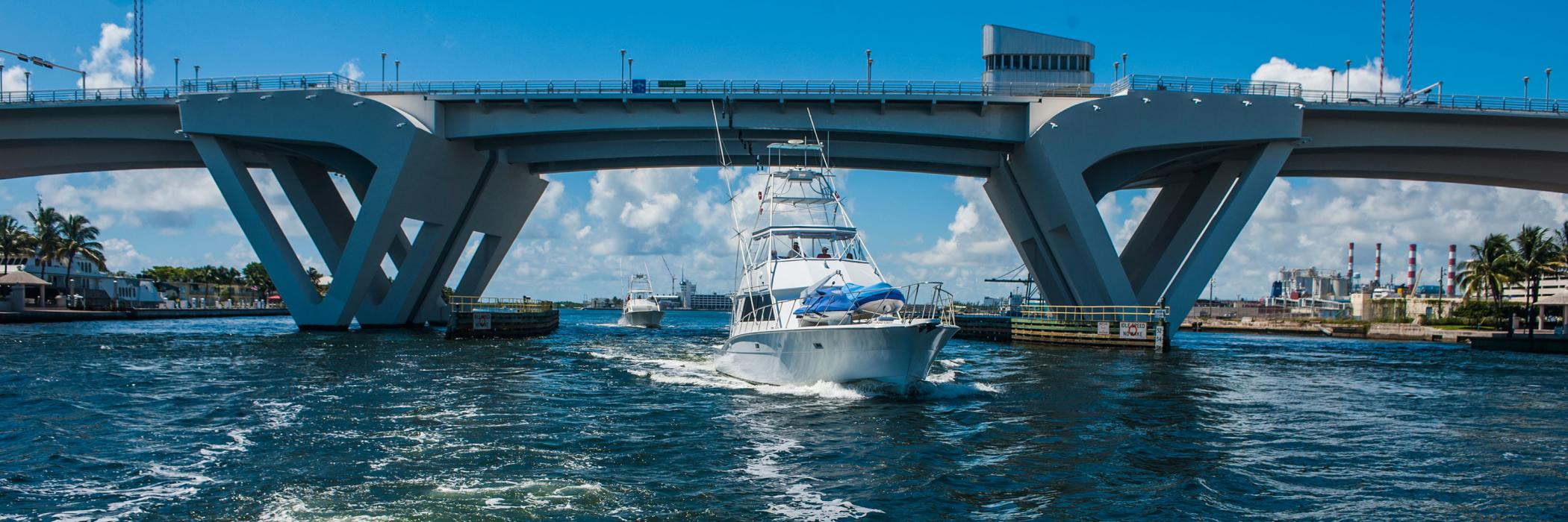 Drawbridge Fishing Boat