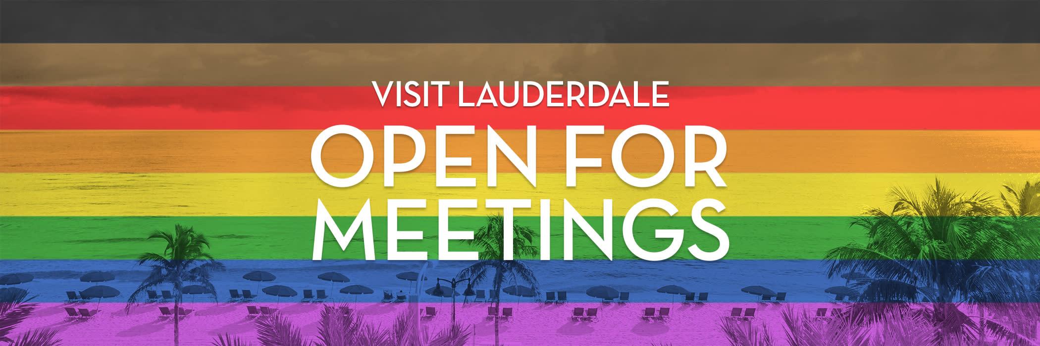 Visit Lauderdale Open for Meetings