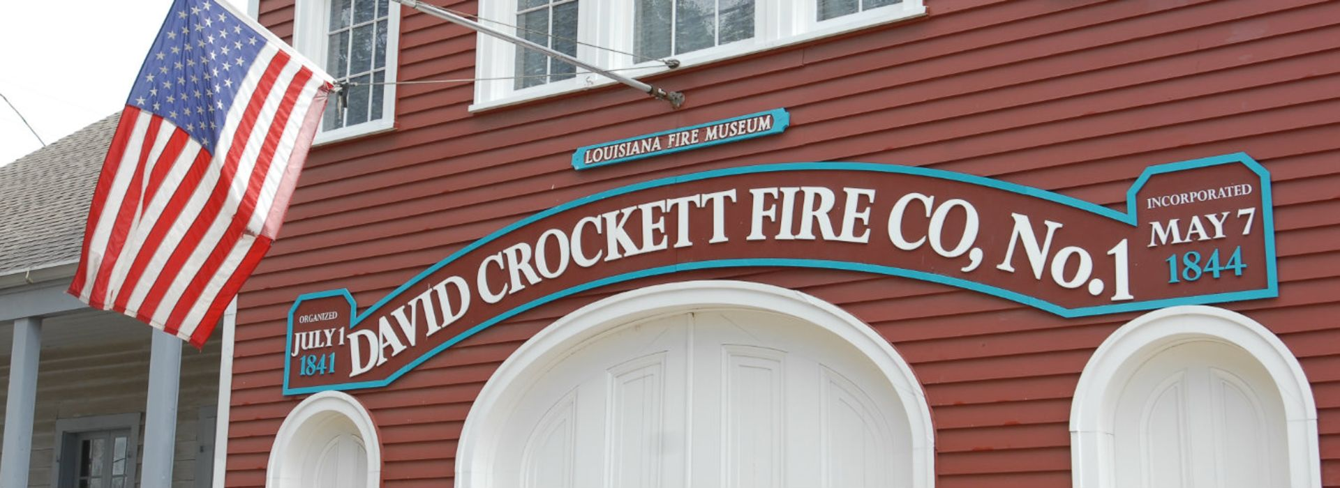 David Crocket Firehouse