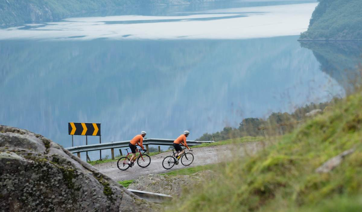 cycling north from the french mediterranean to the fjords of norway by bicycle