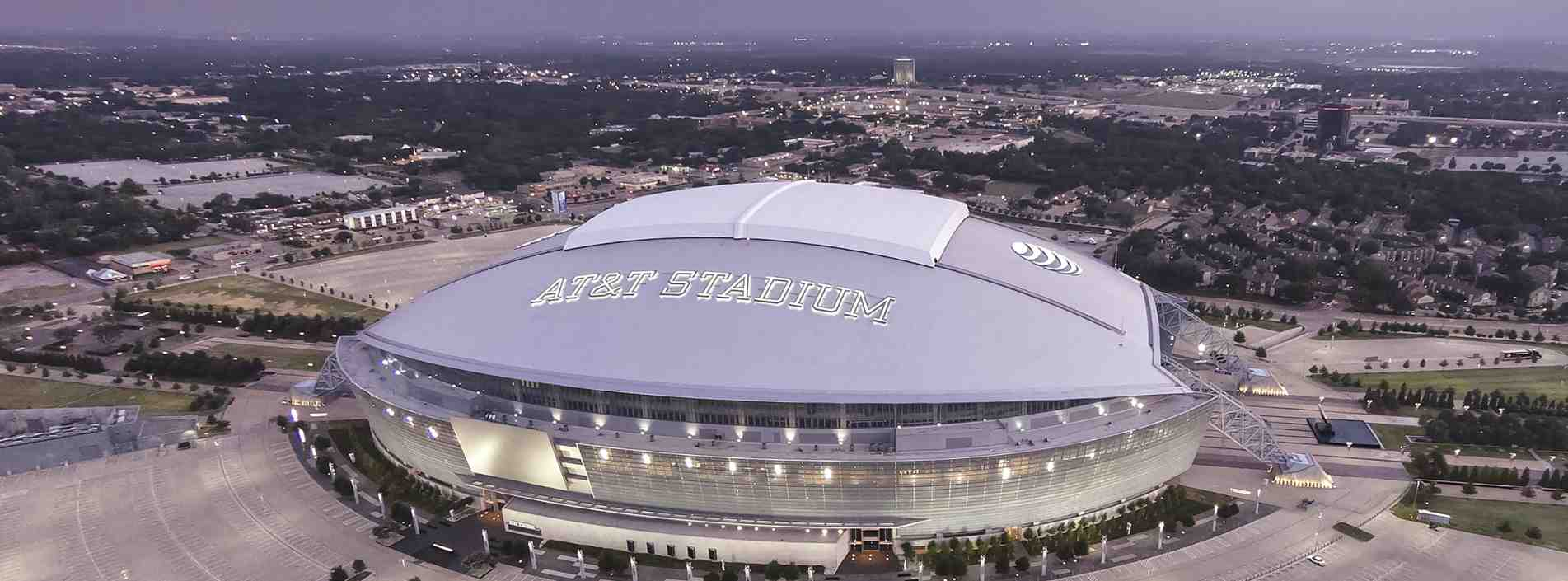 At Amp T Stadium Home Of The Dallas Cowboys In Arlington Tx