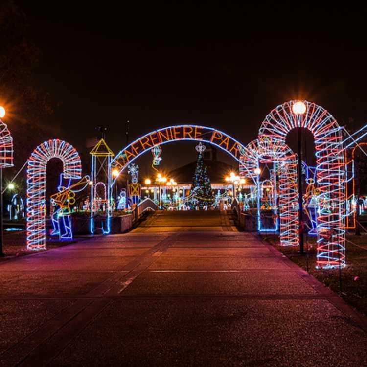 Lafreniere Park Christmas Lights