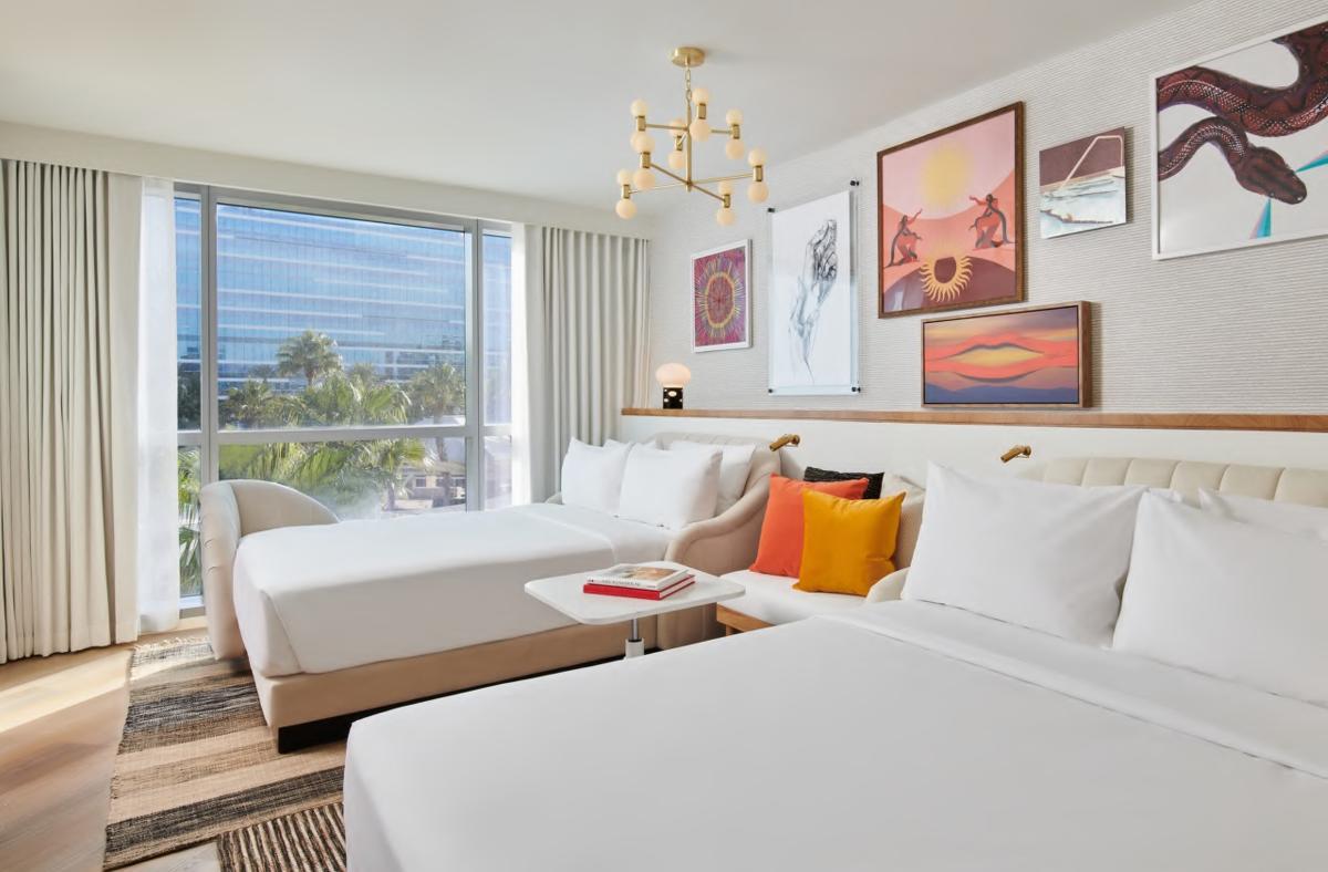 Virgin Hotels Queen Beds