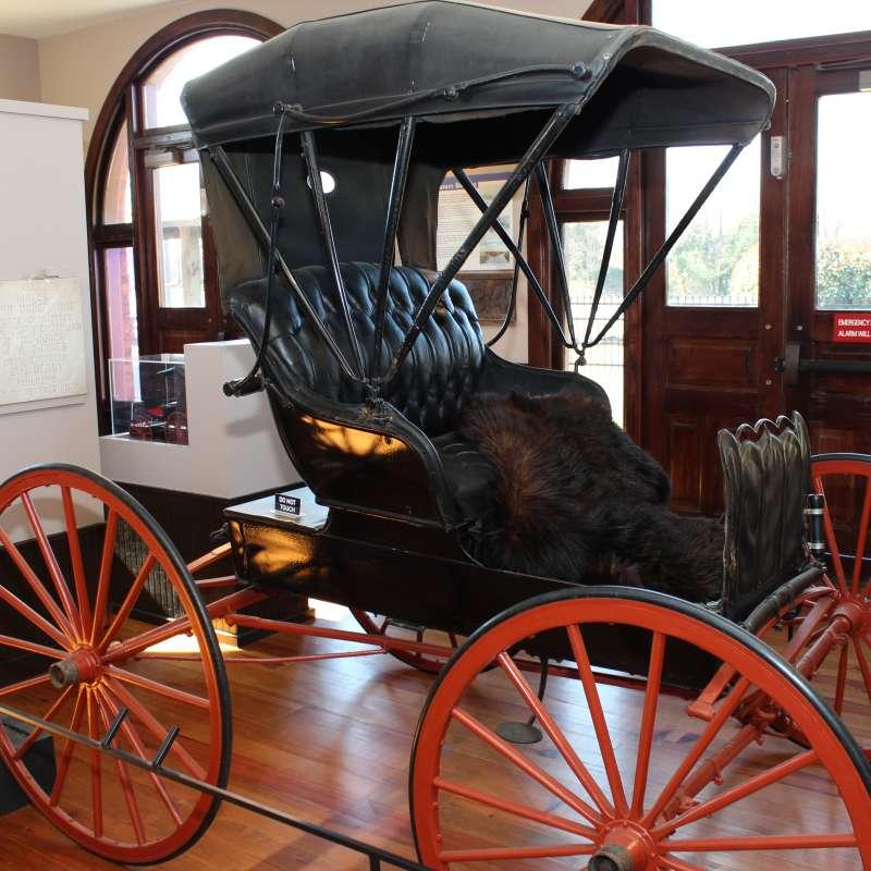 Transportation Museum Interior