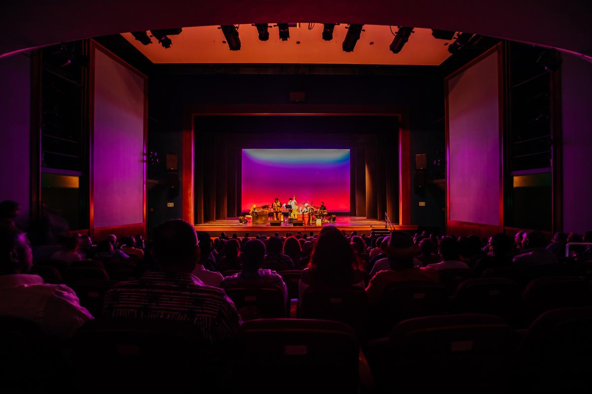 Miramar Cultural Center Theater View In Greater Fort Lauderdale, FL