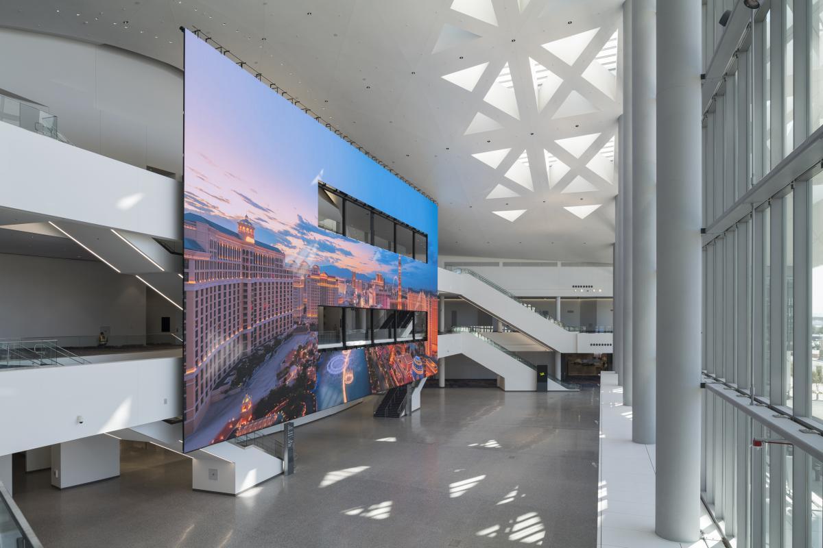 LVCC West Hall Atrium