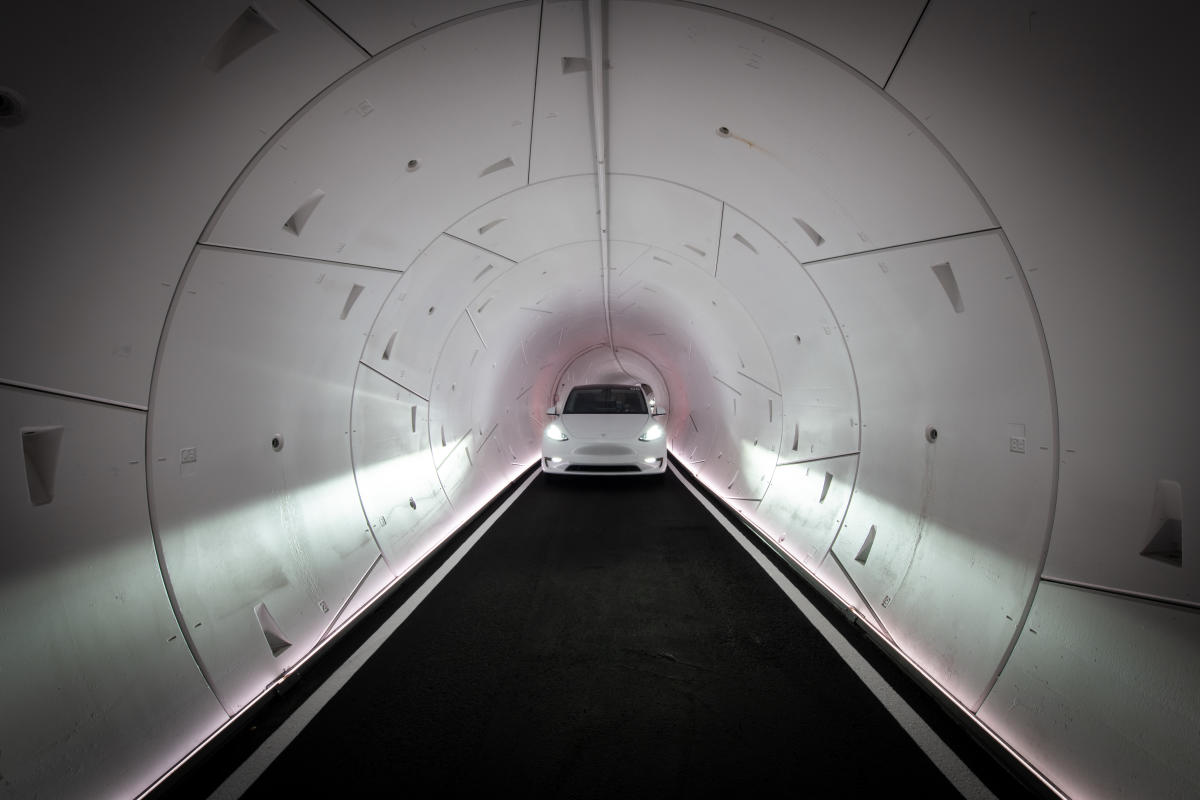 Tesla Tunnel LVCC Loop