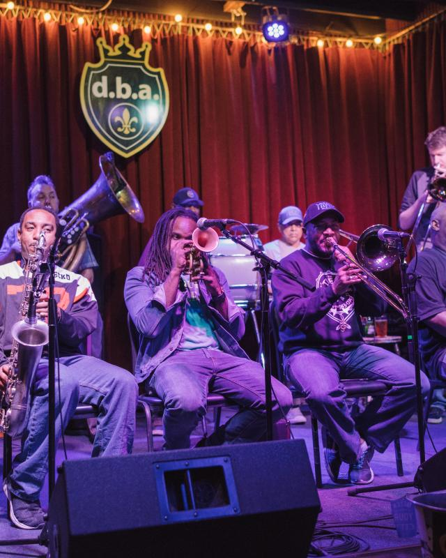 Treme Brass Band at DBA
