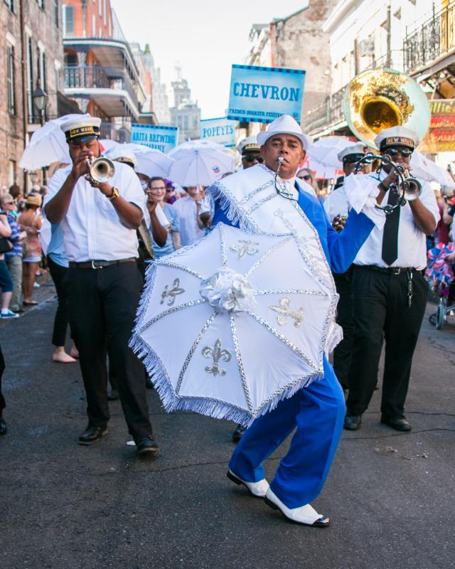 French Quarter Festival- Second Line Parade
