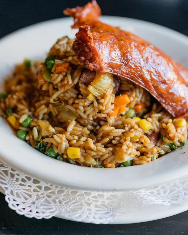 Clic New Orleans Tails Creole Jambalaya Praline Connection